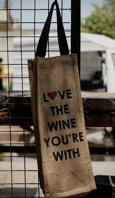 Love the Wine you are with Tote Bag